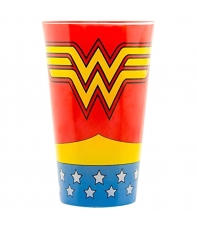Large Glass Dc Wonder Woman 450 ml