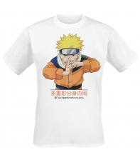 T-shirt Naruto Multiclonage, Man