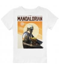 Camiseta Star Wars The Mandalorian Poster, Niño