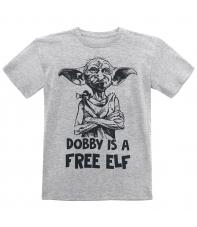Camiseta Harry Potter Dobby is a Free Elf, Niño