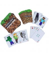 Baraja Cartas Poker Minecraft