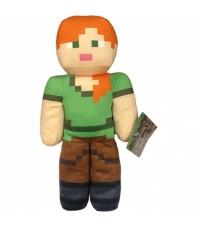Peluche Minecraft Alex 30 cm
