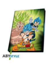 Notebook Dragon Ball Super Broly Vs Goku & Vegeta