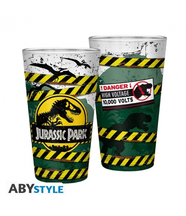 Vaso XXL Jurassic Park High Voltage 400 ml