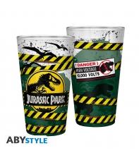 Large Glass Jurassic Park High Voltage 400 ml