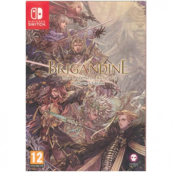 Brigandine: The Legend of Runersia Collector's Edition