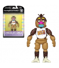 Figura Articulada Five Nights at Freddy's Special Delivery, Chocolate Chica 14 cm