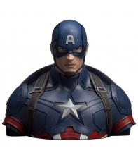 Hucha Marvel Capitán América Busto 20 cm