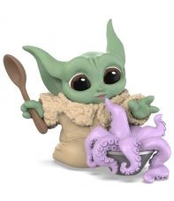 Figura Star Wars The Mandalorian The Child Sopa Tentaculo, The Bounty Collection nº17, 6 cm