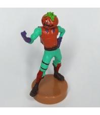 Figura Fortnite con Sello, Cabeza de Tomate 7,5 cm