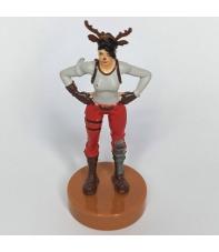 Figura Fortnite con Sello, Asaltante Nariz de Reno 7,5 cm
