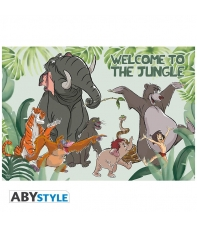 Poster Disney Jungle Book, Welcome to the Jungle, 91,5 x 61 cm