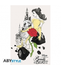 Poster Disney The Beauty and the Beast Movie, 91,5 x 61 cm
