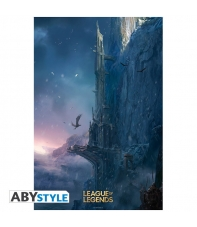 Poster League of Legends Howling Abyss, 91,5 x 61 cm