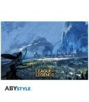 Poster League of Legends Freljord, 91,5 x 61 cm
