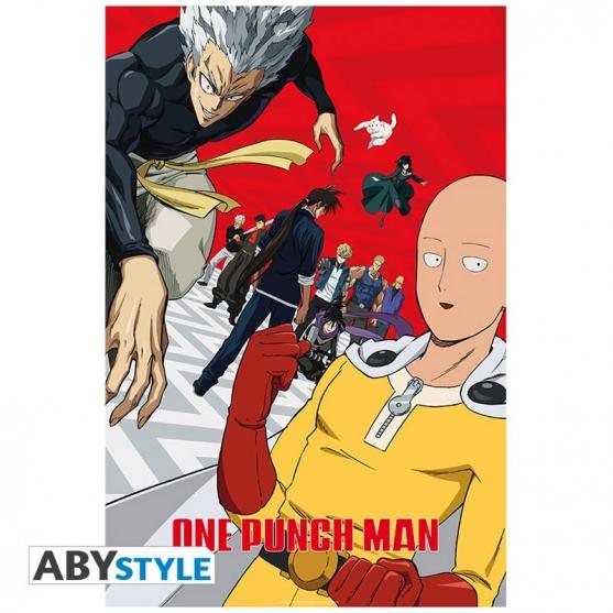 Poster One Punch Man Segunda Temporada Artwork, 91,5 x 61 cm