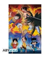 Poster One Piece Ace, Sabo & Luffy, 91,5 x 61 cm