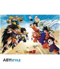 Poster Dragon Ball Z Saiyajin, 91,5 x 61 cm