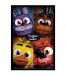 Poster Five Nights at Freddy's Personajes, 91,5 x 61 cm