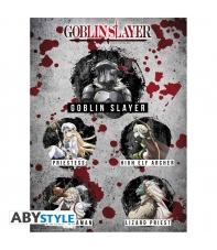Poster Goblin Slayer Personajes, 58 x 34 cm