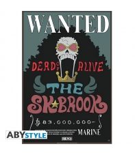 Poster One Piece Wanted Brook, 58 x 34 cm