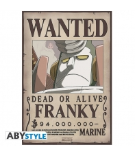 Poster One Piece Wanted Franky , 58 x 34 cm