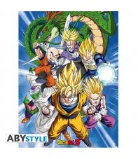 Poster Dragon Ball Z Saga Celula, 58 x 34 cm