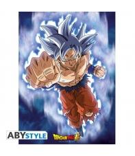 Poster Dragon Ball Super Goku Ultra Instinct, 52 x 38 cm