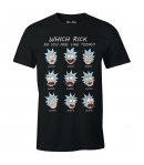 Camiseta Rick & Morty Which Rick, Hombre