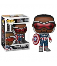 Pop! Captain America 814 Marvel Studios The Falcon and the Winter Soldier