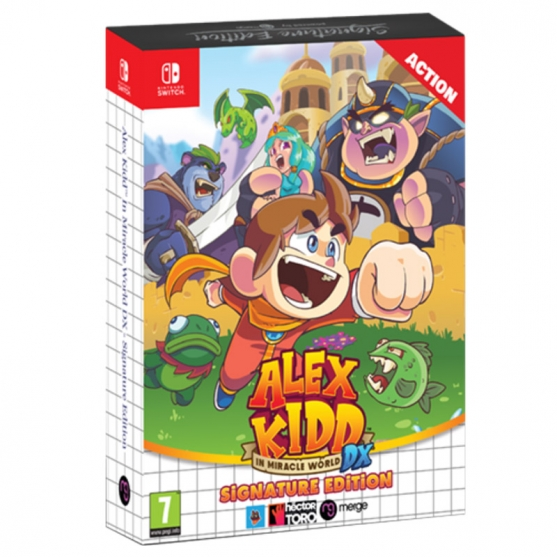 Alex Kidd In Mircacle World DX Signature Edition