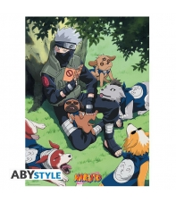 Poster Naruto, Kakashi y sus Perros 52 x 38 cm