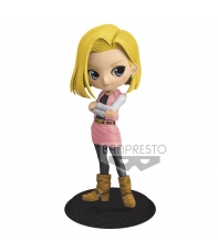 Figura Dragon Ball Z Android 18 Qposket 14 cm