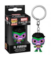 Llavero Pop! El Furioso, Marvel Lucha Libre Edition