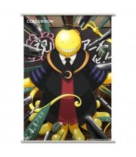 Poster Tela Enrollable Assassination Classroom Koro Sensei, 90 x 60 cm