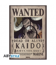 Poster One Piece Wanted Kaido, 52 x 35 cm