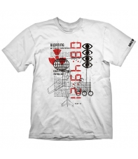 Camiseta Call of Duty Cold War Warning Attack, Hombre