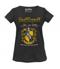 Camiseta Harry Potter Hufflepuff Team Quidditch, Mujer