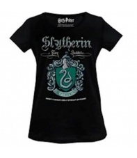 Camiseta Harry Potter Slytherin Team Quidditch, Mujer