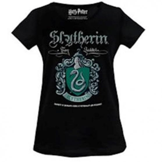 T-shirt Harry Potter Slytherin Team Quidditch, Woman
