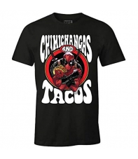 Camiseta Marvel Deadpool Chimichangas and Tacos, Hombre