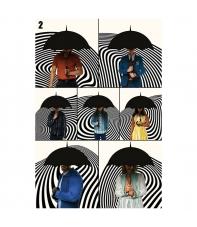 Poster The Umbrella Academy Família, 91,5 x 61 cm