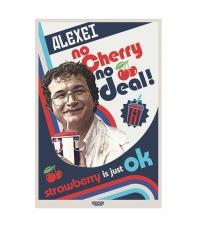 Poster Stranger Things Alexei No Cherry No Deal, 91,5 x 61 cm