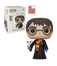 Pop! Harry Potter with Hedwig 01 Harry Potter, 46 cm.