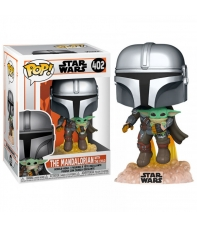 Pop! The Mandalorian with The Child 402 Star Wars The Mandalorian