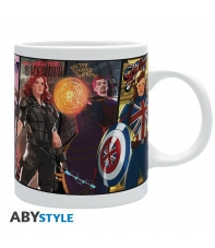 Taza Marvel What If 320 ml
