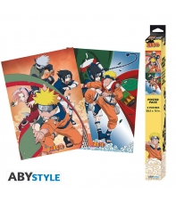 Pack 2 Posters Naruto Team 7, 52 x 38 cm