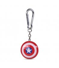 Llavero Marvel 3d Capitán América Escudo