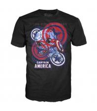 Camiseta Marvel Capitán América The Last Avenger POP, Hombre